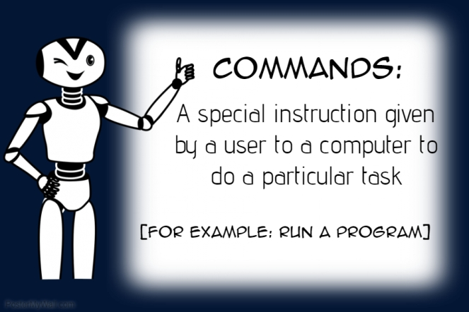 commands definition