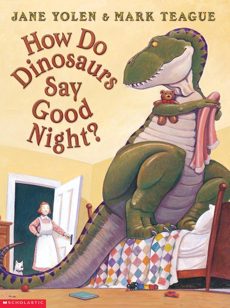how do dinosaurs say good night
