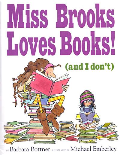 miss brooks loves books