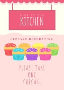 Instructions -- Cupcake Decorating