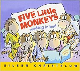 five little monkeys reading in bed.jpg