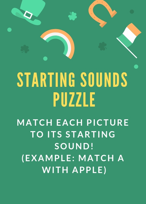 starting sounds puzzle
